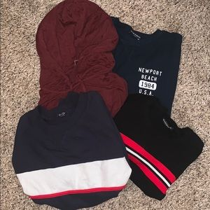 Set of Brandy Melville tops (4)